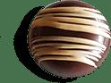 pralina primavera di cioccolato artigianale di alta qualità