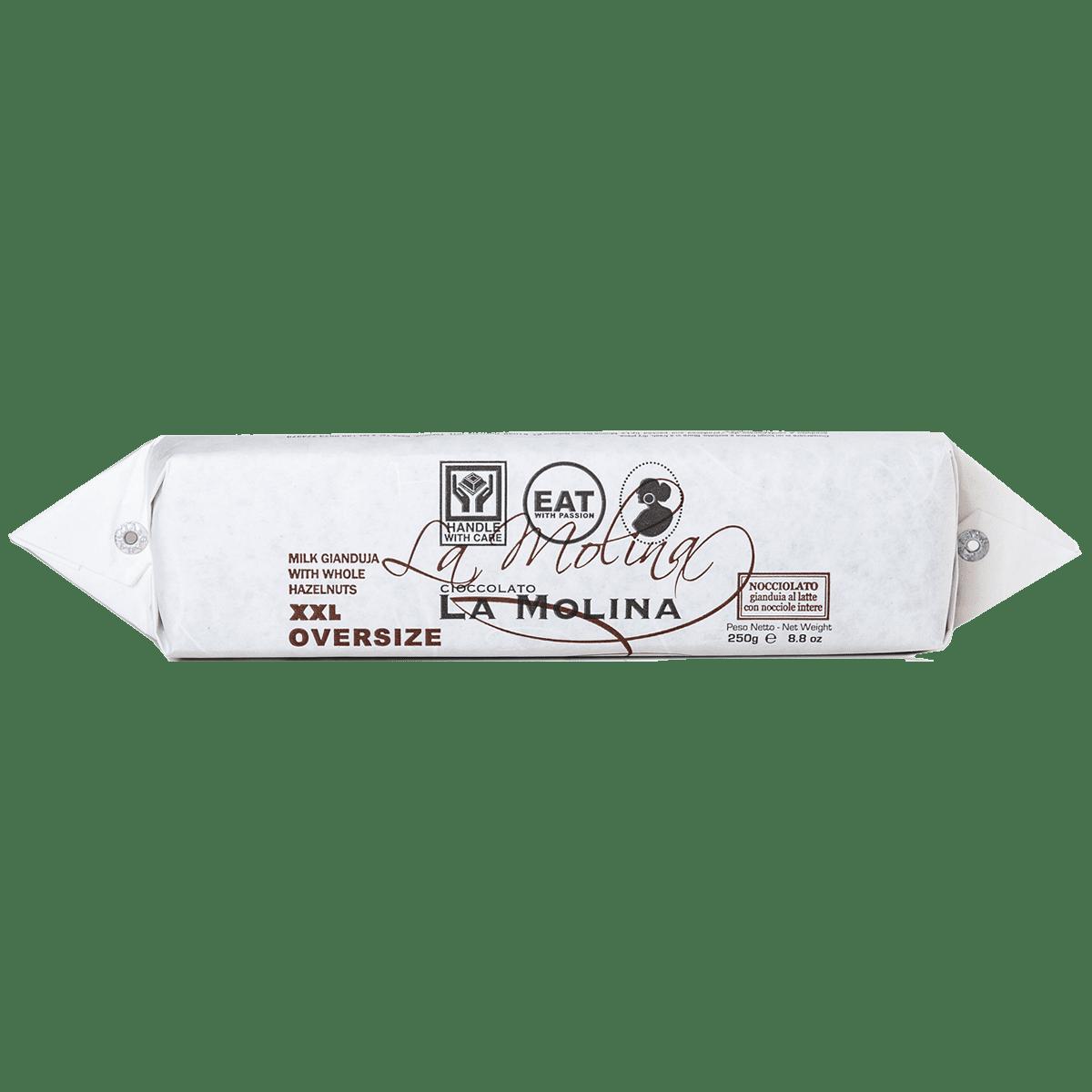 XXL Gianduia al latte con nocciole intere